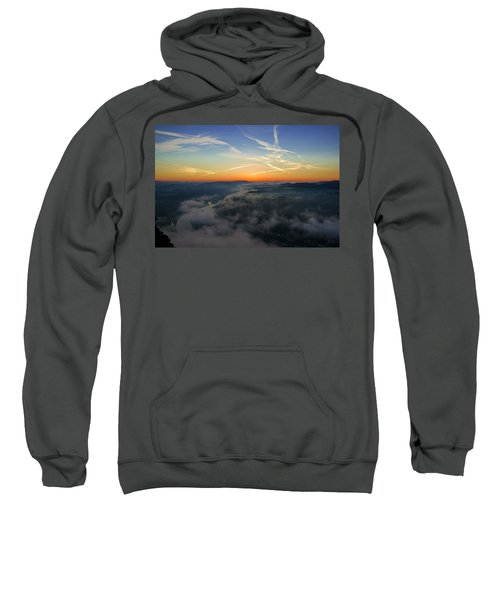 Before Sunrise On The Lilienstein Sweatshirt