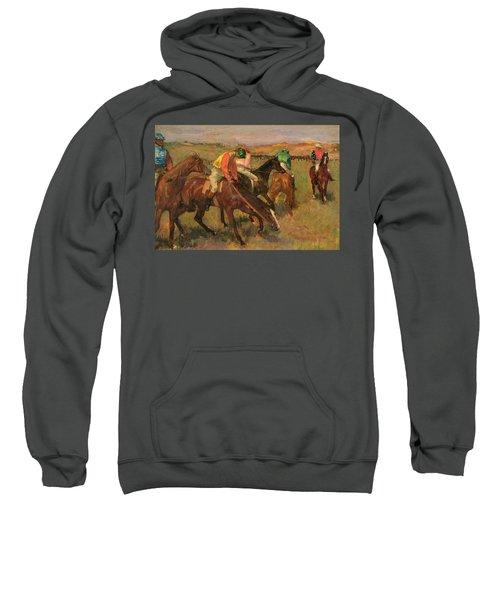 Before The Races Sweatshirt