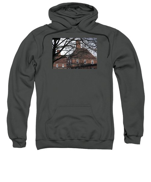 The British Ambassador's Residence Behind Trees Sweatshirt by Cora Wandel