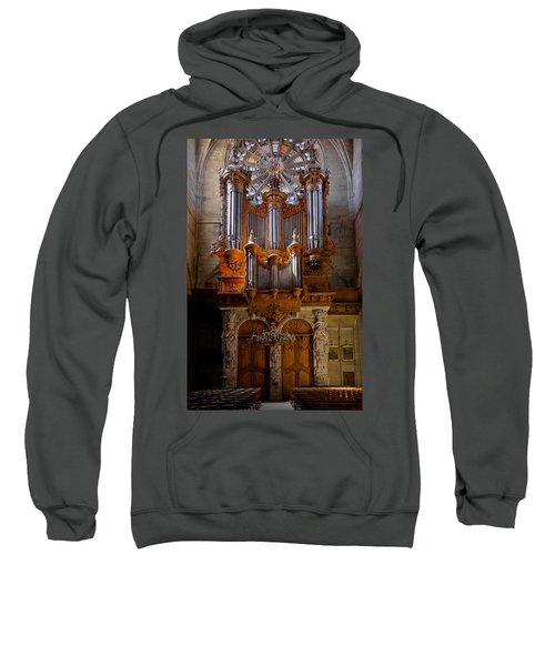 Beziers Pipe Organ Sweatshirt