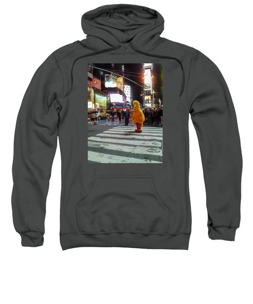 Big Bird On Times Square Sweatshirt