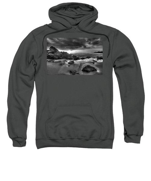 Black And White Laguna Beach Sweatshirt