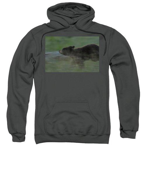Black Bear Cub Sweatshirt