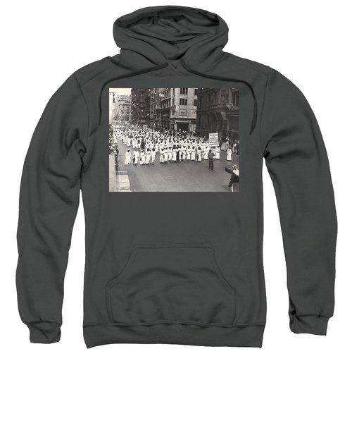 Black Silent Protest March Sweatshirt