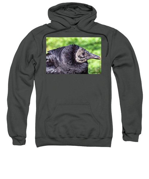 Black Vulture Waiting For Prey Sweatshirt