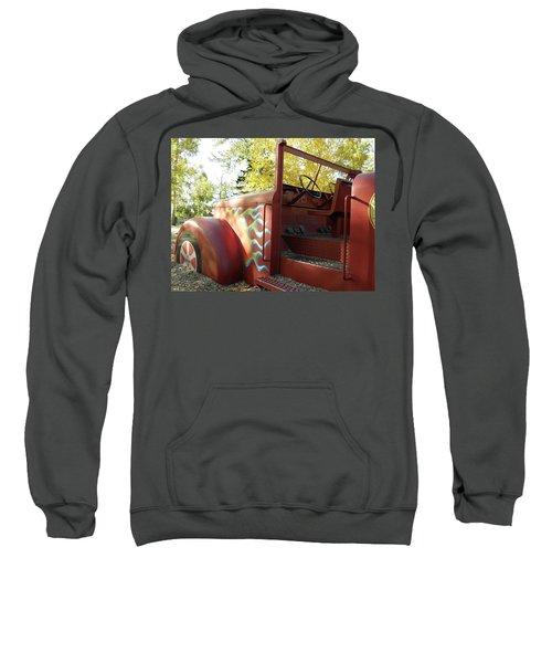 Blazing Red Fire Truck Sweatshirt