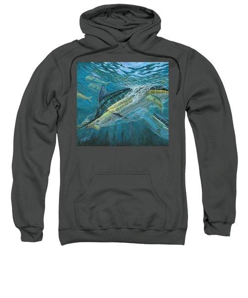 Blue And Mahi Mahi Underwater Sweatshirt