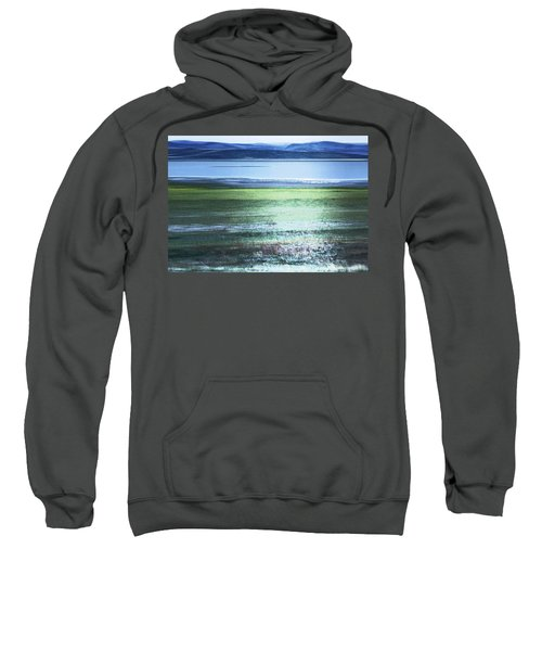 Blue Green Landscape Sweatshirt