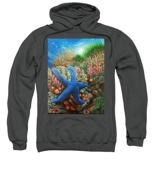 Blue Seastar Sweatshirt