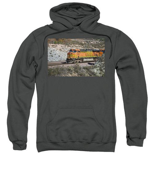 Sweatshirt featuring the photograph Bn 7678 by Jim Thompson