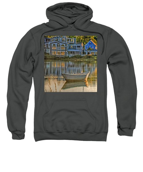 Boat In Late Afternoon Sweatshirt