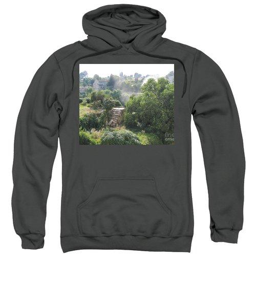Bordeaux Village Cloud Of Smoke  Sweatshirt