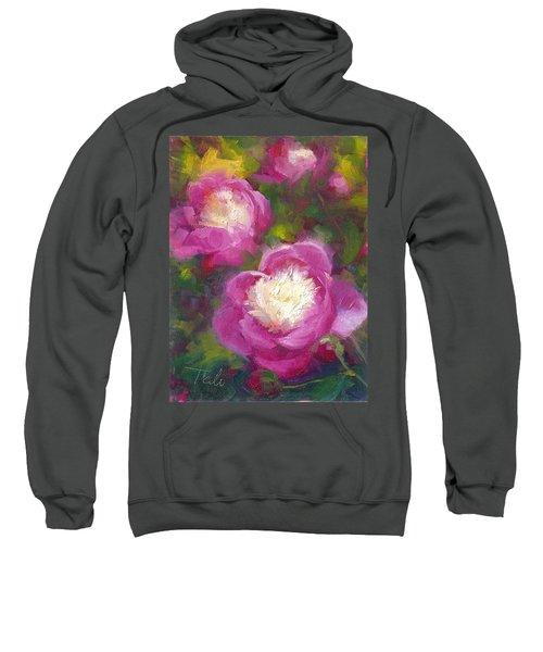 Bowls Of Beauty - Alaskan Peonies Sweatshirt