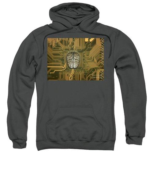 Brain With Pcb Sweatshirt
