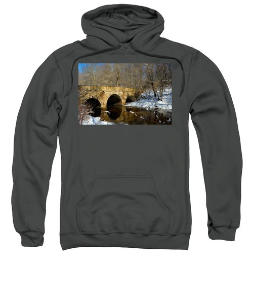 Bridge In Woods Sweatshirt