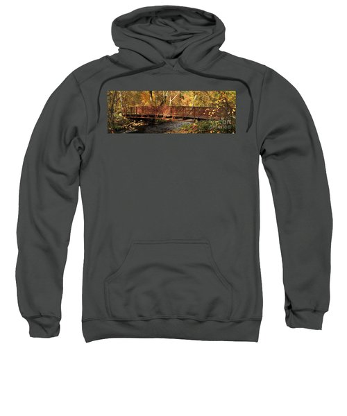 Bridge On Big Chico Creek Sweatshirt