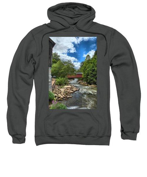 Bridging Slippery Rock Creek Sweatshirt