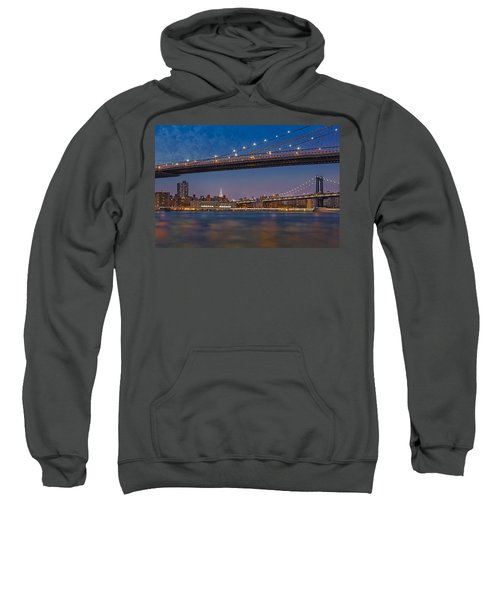 Brooklyn Bridge Frames Manhattan Sweatshirt
