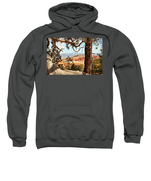 Bryce Canyon Through The Trees Sweatshirt