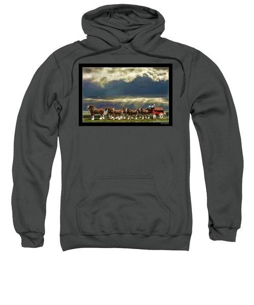 Budweiser Clydesdales Paint 1 Sweatshirt