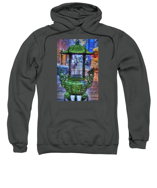 Burning Incense Sweatshirt