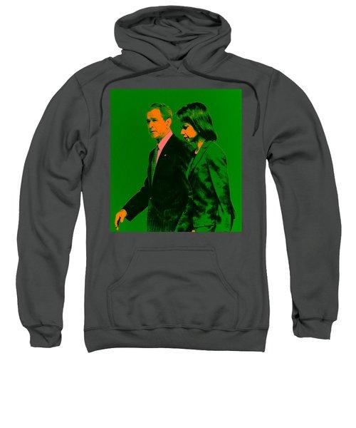 Bush And Rice Sweatshirt by Brian Reaves