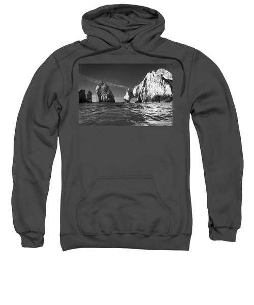 Cabo In Black And White Sweatshirt