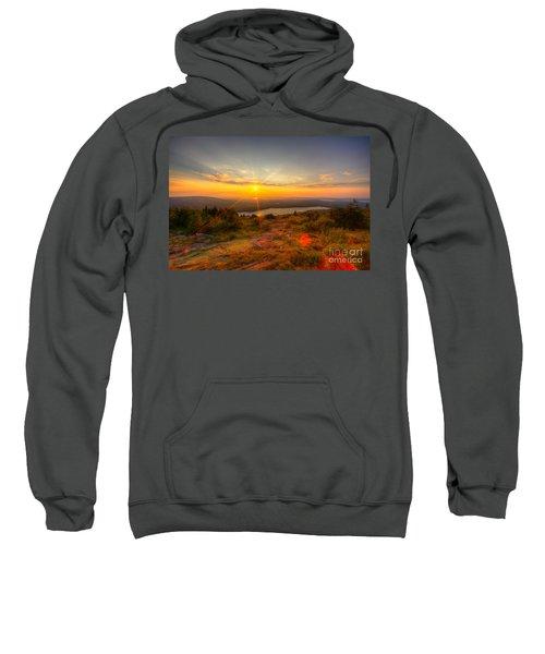 Cadillac Mountain Sunset Acadia National Park Bar Harbor Maine Sweatshirt