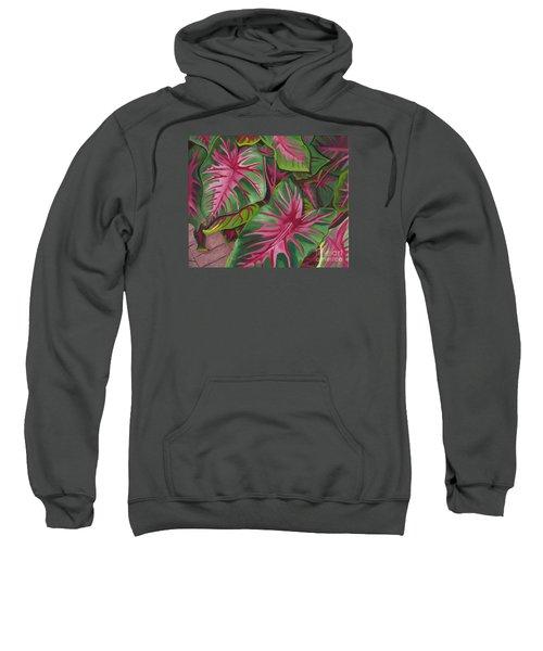 Caladiums Sweatshirt
