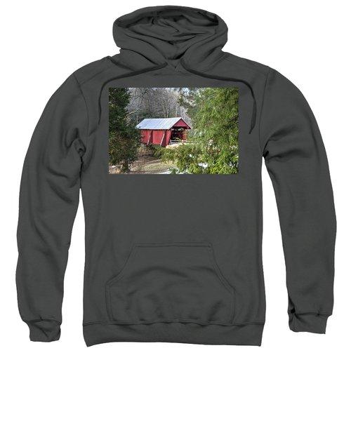 Campbell's Covered Bridge-1 Sweatshirt