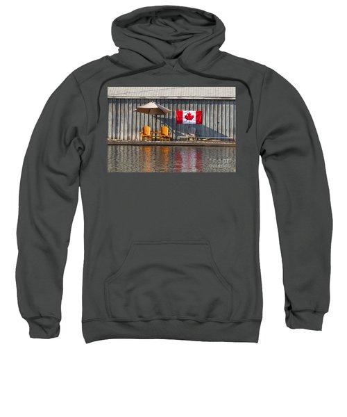 Canada Day In Muskoka Sweatshirt
