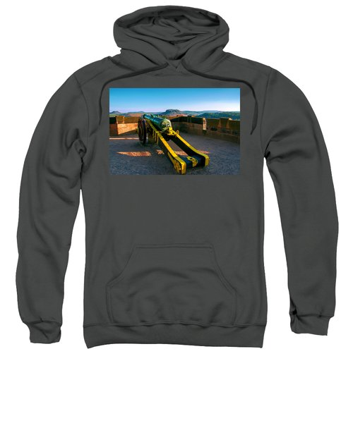 Cannon At The Fortress Koenigstein Sweatshirt