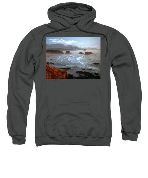 Cannon Beach At Sunset Sweatshirt