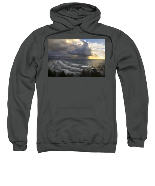 Sunset At Cape Lookout Oregon Coast Sweatshirt