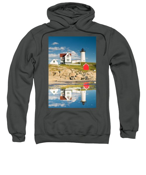 Cape Neddick Light  Reflections Sweatshirt