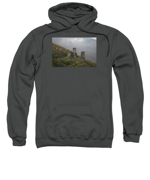 Castle In The Mountains. Sweatshirt