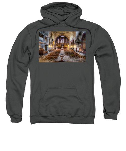 Cathedrale Saint-etienne Interior / Cahors Sweatshirt