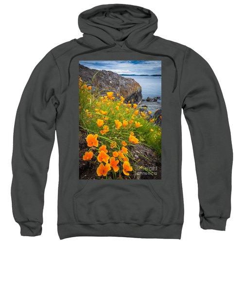 Cattle Point Poppies Sweatshirt
