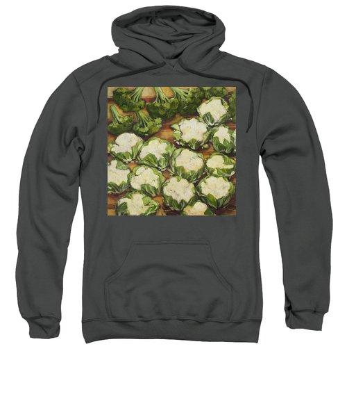 Cauliflower March Sweatshirt by Jen Norton