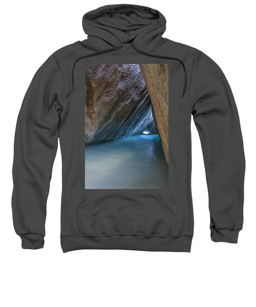 Cave At The Baths Sweatshirt by Adam Romanowicz