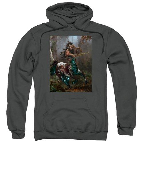 Centaur Token Sweatshirt by Ryan Barger
