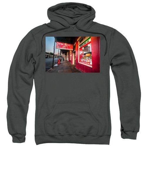 Central Grocery And Deli In New Orleans Sweatshirt