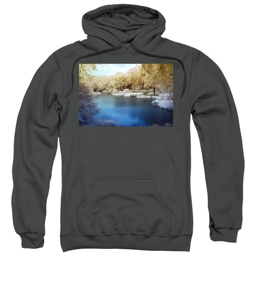 Central Park Lake Infrared Sweatshirt