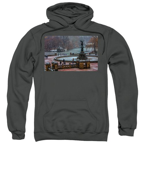 Central Park Snow Storm Sweatshirt