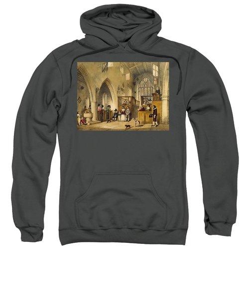 Chapel At Haddon Hall, Derbyshire Sweatshirt