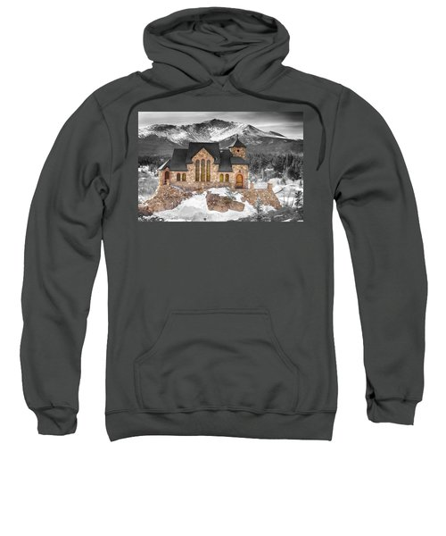 Chapel On The Rock Bwsc Sweatshirt by James BO  Insogna