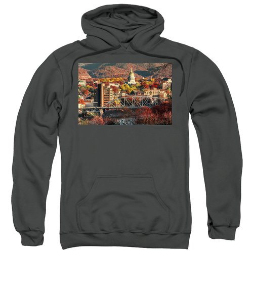 Charleston And Wv Capitol Sweatshirt
