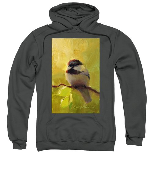 Chatty Chickadee - Cheeky Bird Sweatshirt
