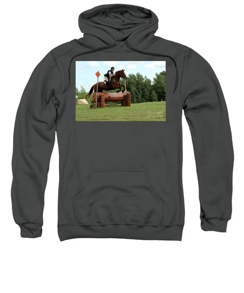 Chestnut Over Log Jump Sweatshirt
