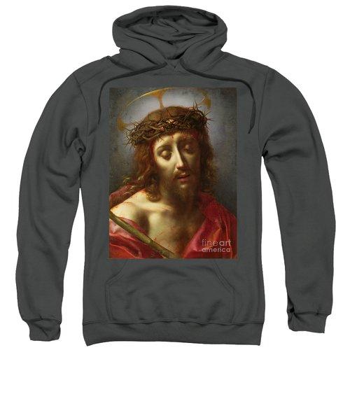 Christ As The Man Of Sorrows Sweatshirt